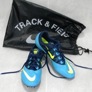 NIKE ZOOM RIVALS S7 TRACK SPIKE SHOES SIZE 7.5